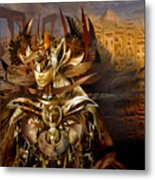Egyptian Goddess Metal Print
