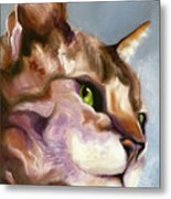 Egyptian Mau Princess Metal Print