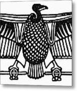 Egyptian Symbol: Vulture Metal Print
