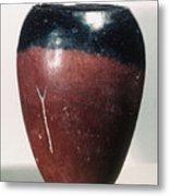 Egyptian Vase, C4000 B.c Metal Print