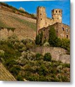 Ehrenfels Castle Ruin Metal Print