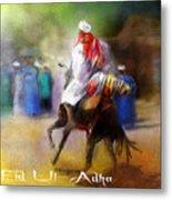 Eid Ul Adha Festivities Metal Print