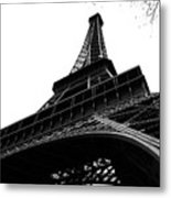Eiffel From An Angle Metal Print
