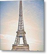 Eiffel Tower 13 Art Metal Print