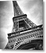 Eiffel Tower Dynamic Metal Print