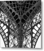 Eiffel Tower Leg Metal Print