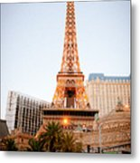 Eiffel Tower Nevada Metal Print by Andy Smy