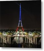 Eiffel Towers Metal Print