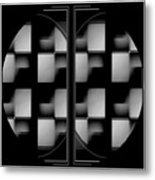 Eight On The Side Metal Print