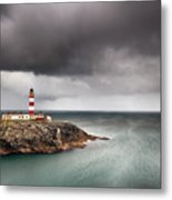 Eilean Glas Lighthouse 5 Metal Print