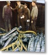 Eisenhower: Wwii, C1944 Metal Print by Granger