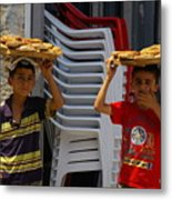 Ekmek For Sale Metal Print