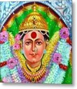 Ekvira Devi Metal Print by Kalpana Talpade Ranadive