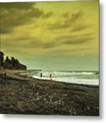 El Beach - El Salvador Metal Print
