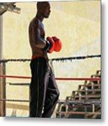 El Boxeador Metal Print by Dawn Currie