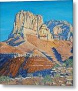 El Capitan At The Guadalupe Peaks Metal Print