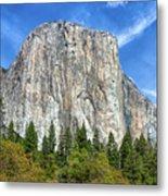 El Capitan In Yosemite National Park Metal Print