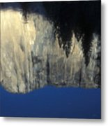 El Capitan Reflection Metal Print