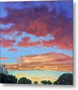 El Dorado Sunset Metal Print