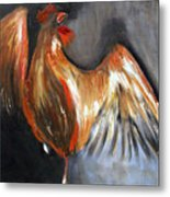 El Gallo Metal Print