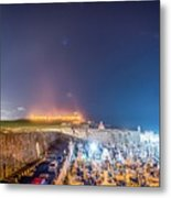 El Morro And New Moon Metal Print