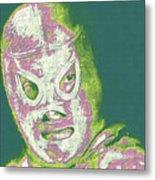 El Santo The Masked Wrestler 20130218v2m80 Metal Print