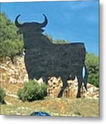 El Toro In The Andalucian Countryside Metal Print