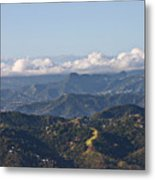 El Yunque Way Metal Print
