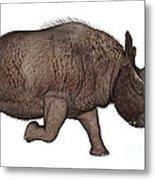 Elasmotherium Metal Print
