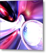 Elation Abstract Metal Print
