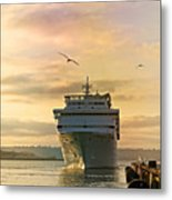 Elation - Leaving For A Cruise Metal Print
