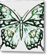 Election 2020 Presidential Candidate Catherien Lott Usa Green Butterfly Metal Print