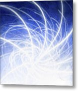 Electric Beams Metal Print