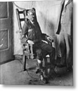 Electric Chair, 1908 Metal Print