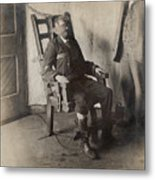 Electric Chair, 1908 Metal Print by The Branch Librariesnew York Public Library