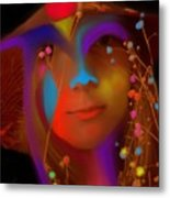 Electric Compassion Metal Print