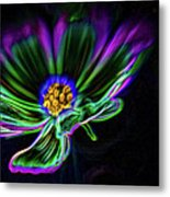 Electric Daisy Metal Print
