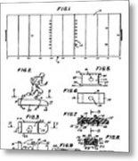 Electric Football Patent 1955 Metal Print