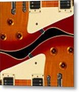 Electric Guitar II Metal Print by Mike McGlothlen