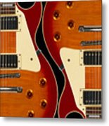 Electric Guitar IIi Metal Print