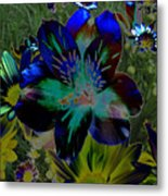 Electric Lily Metal Print