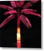 Electric Palm Metal Print