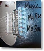 Electric Passion And Soul  Metal Print