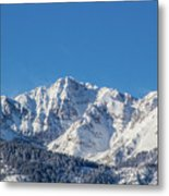 Electric Peak Metal Print