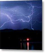 Electric Skies  Metal Print