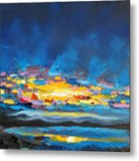 Electric Skies Metal Print