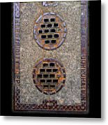 Electric Smiles Metal Print