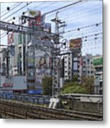 Electric Train Society -- Kansai Region Japan Metal Print