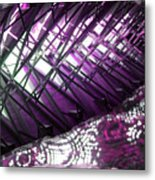 Electric Violet Fish Metal Print