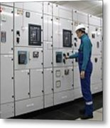 Electrical Panel Board Manufacturers Metal Print